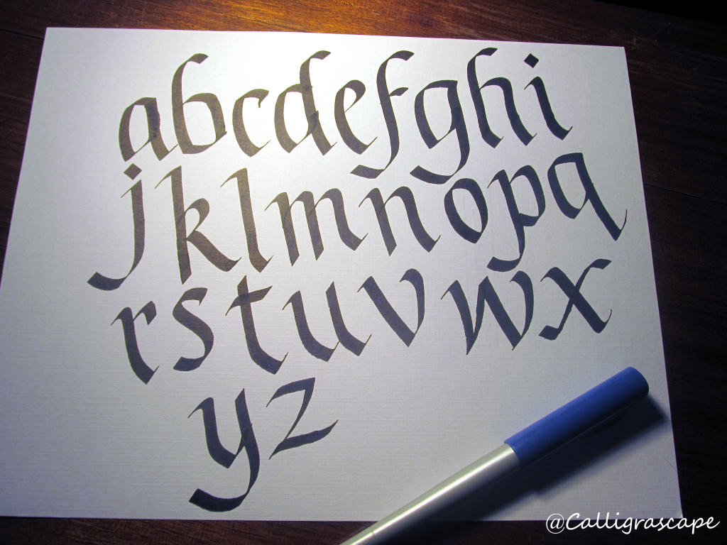 How to learn calligraphy complete beginner s guide