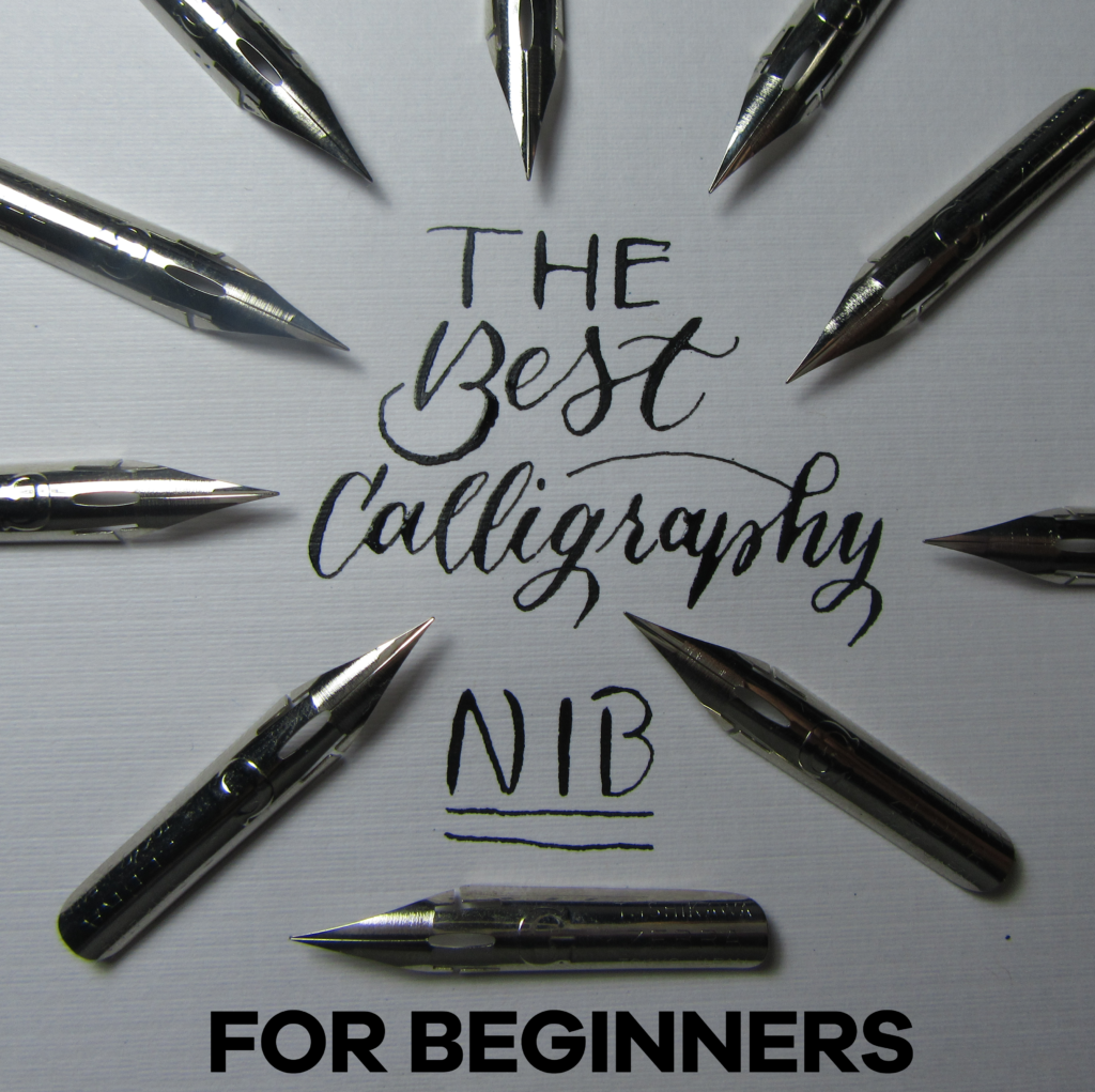 The best calligraphy nib for beginners nib basics Calligraphy basics
