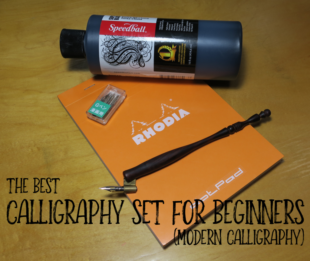 Best Calligraphy Set For Beginners Modern Calligraphy