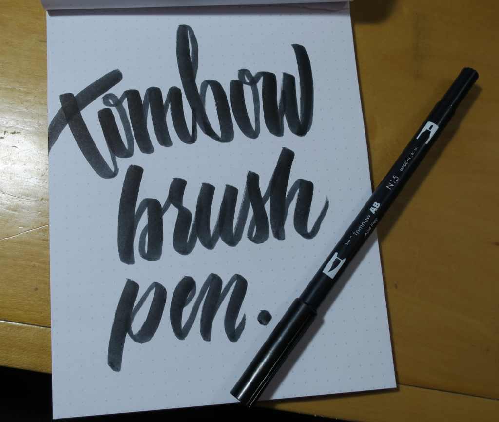 Tombow Brush Pen